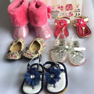 Other - 3/$50 Lot of 5 Adorable Infant Shoes
